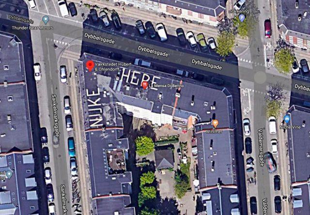 Quel drôle de message, une fois de plus trouvé dans Google Maps