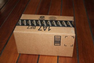 Un colis provenant d'Amazon