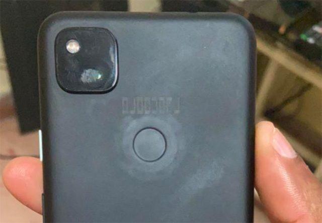 Le Pixel 4a en version noire... ou plutôt un de ses prototypes