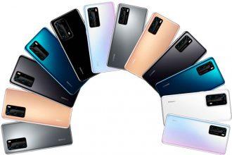 Les Huawei P40 ne manqueront pas de couleurs