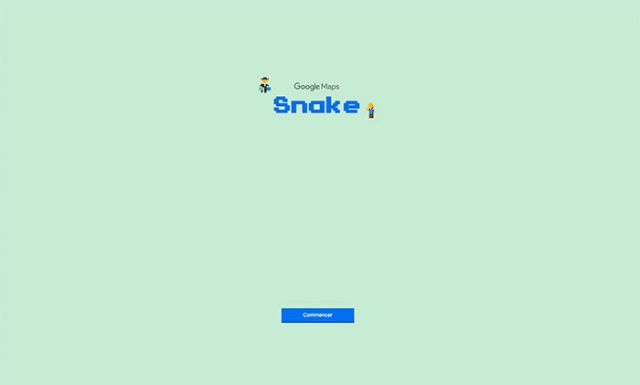 Saviez-vous qu'il était possible de jouer à Snake dans Google Maps ?