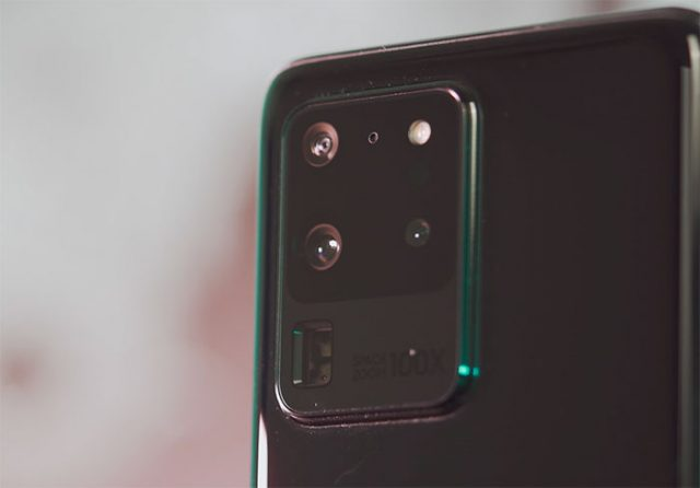 Samsung met en valeur le zoom x100 du Galaxy S20 Ultra