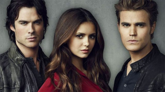 La jaquette de Vampire Diaries