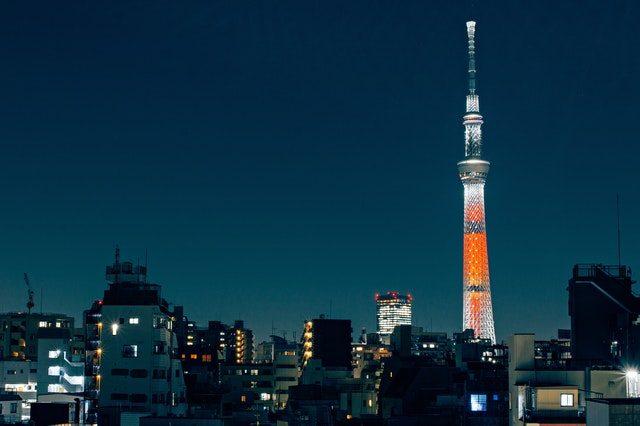 Le Tokyo Skytree - crédits Pixabay