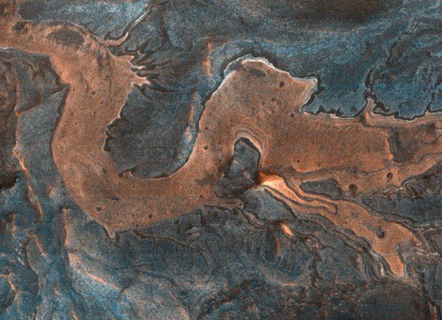 Une très belle photo de Mars capturée par HiRISE