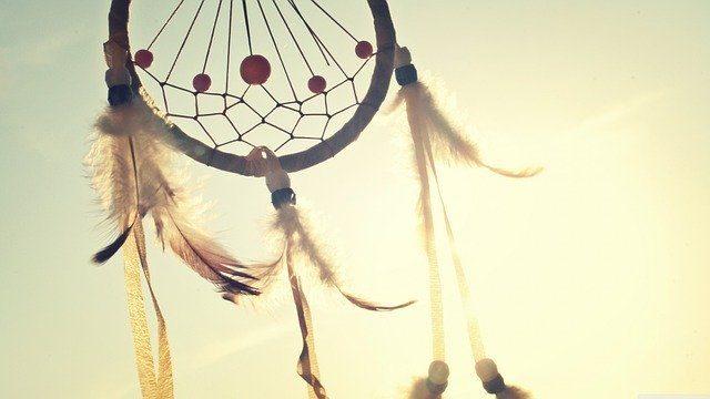 Un attrapeur de rêves amérindien
