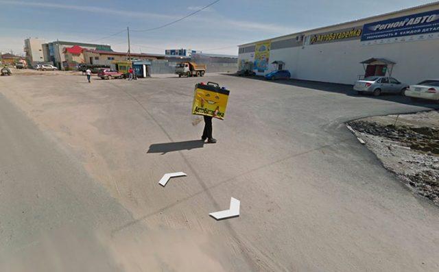 Typiquement le genre de rencontre qu'on ne peut faire que dans Google Maps