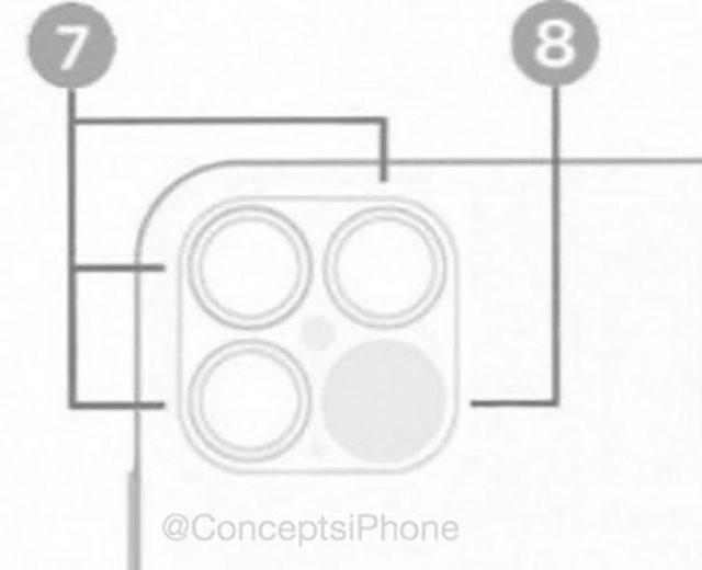 L'iPhone 12 Pro devrait proposer un tout nouveau module photo arrière