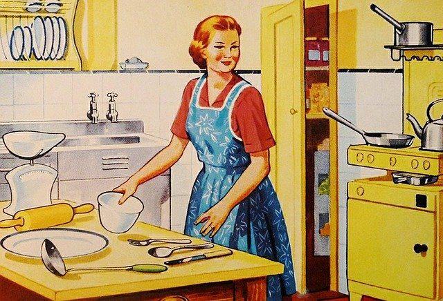 une cuisinière rétro