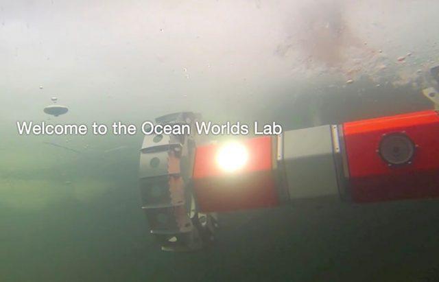 Ce drôle de petit robot a été conçu pour explorer les fonds marins