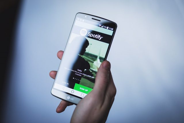 Spotify sur Android