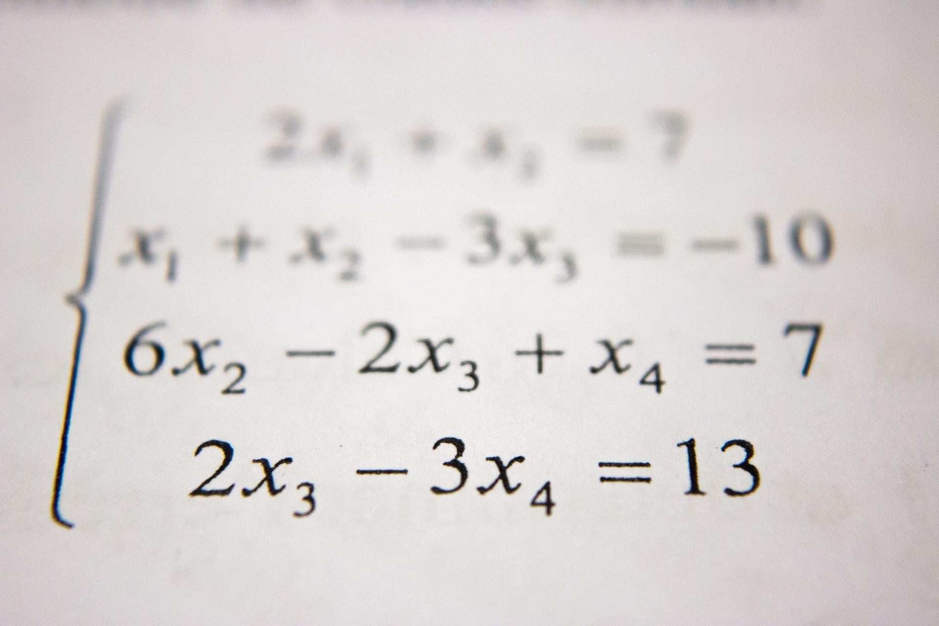 Une fonction mathématique