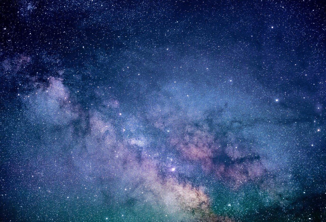 La photo d'un ciel etoile