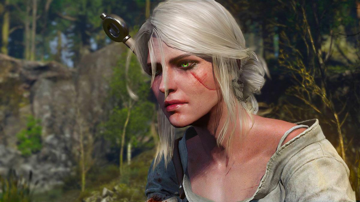 Ciri dans The Witcher - Crédits CD Projekt