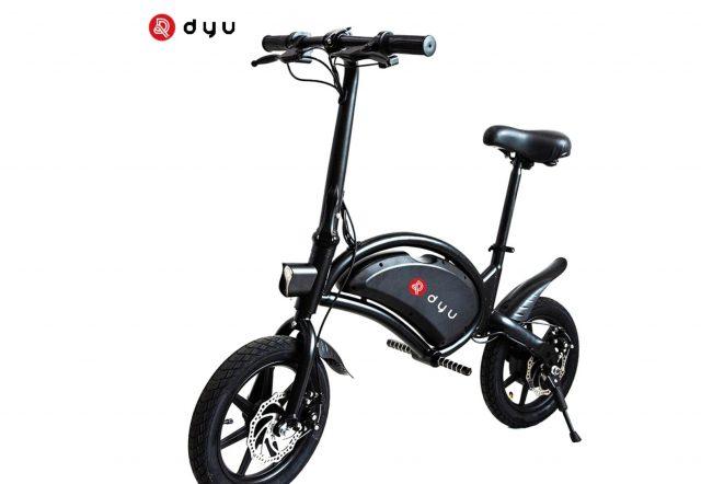 Le DYU D3F, un petit vélo électrique très séduisant