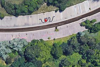 On trouve parfois de drôles de choses dans Google Maps