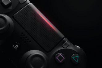 La DualShock 4 qui accompagne la PlayStation