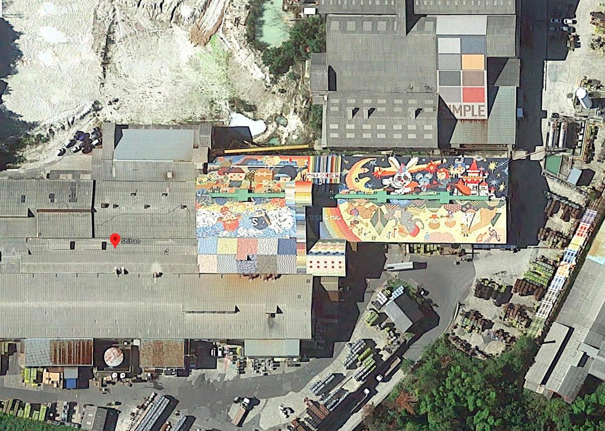 Google Maps cache de jolies choses, comme en témoigne cette belle fresque