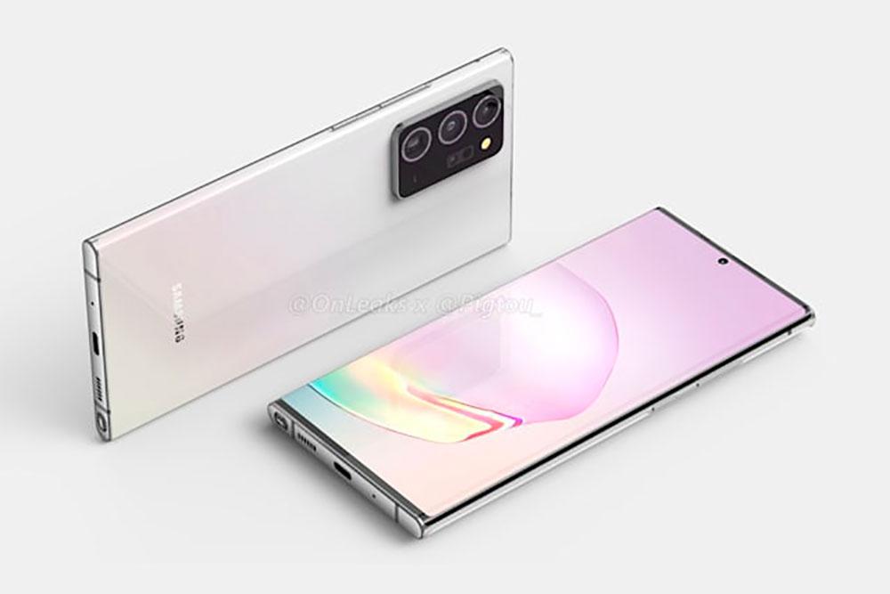 Voilà à quoi devrait ressembler le Galaxy Note 20+