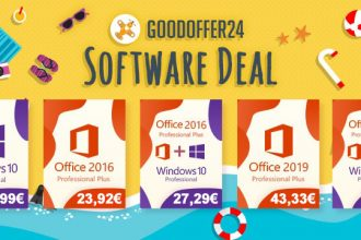 GoodOffer24 propose plein de promos sur les clés de Windows et Office.