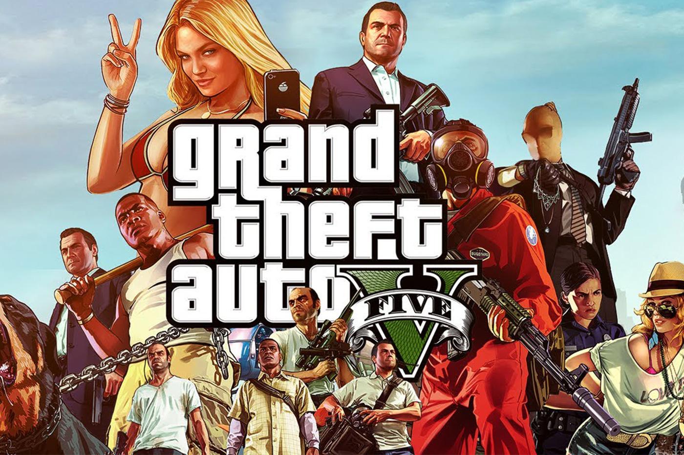 L'une des nombreuses images de GTA 5