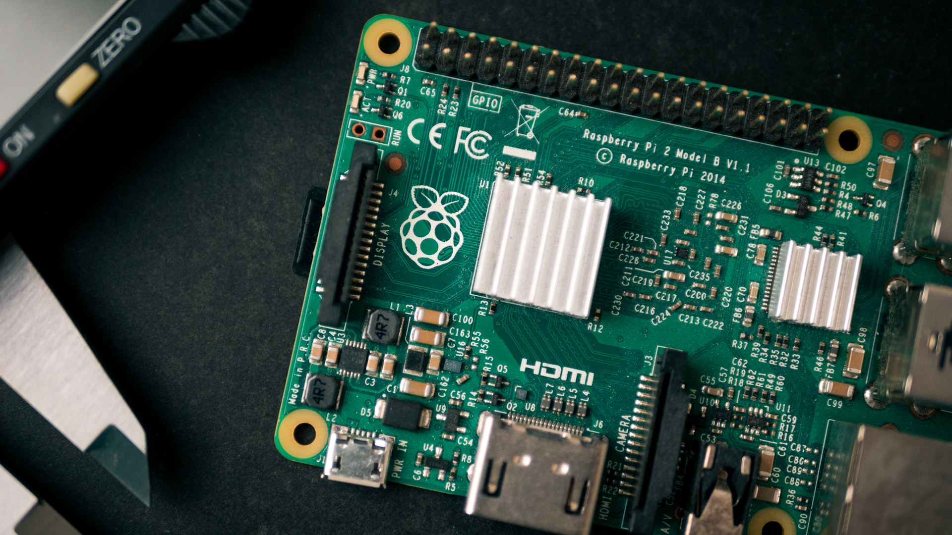 La photo d'un Raspberry Pi