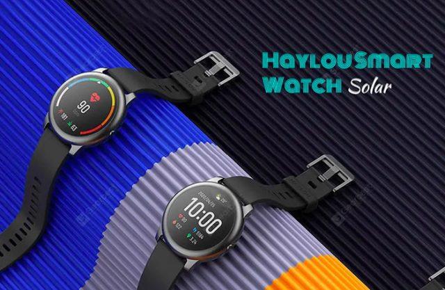 La montre connectée Haylou Solar à 35 €
