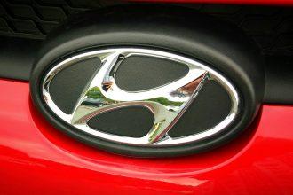 Le logo du constructeur Hyundai