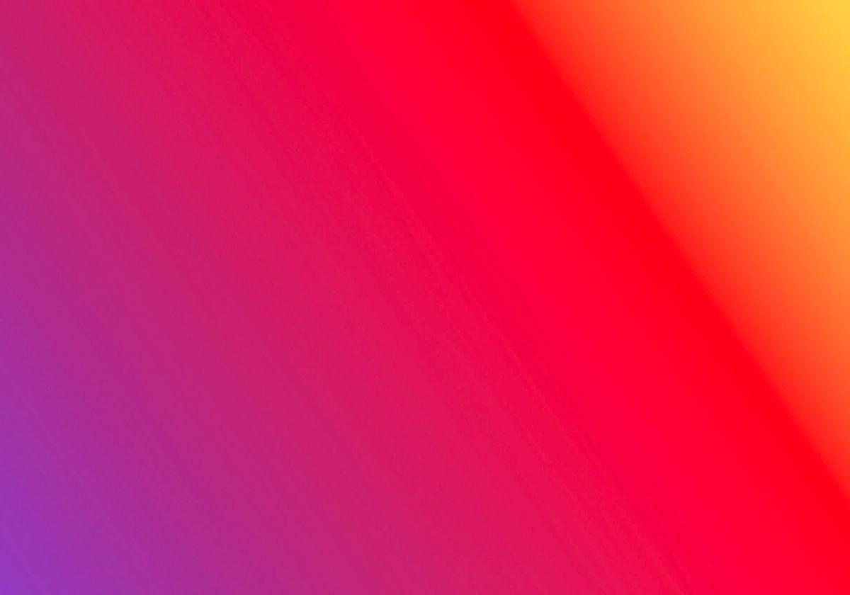 Les couleurs d'Instagram