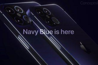 L'iPhone 12 Pro en version Navy Blue