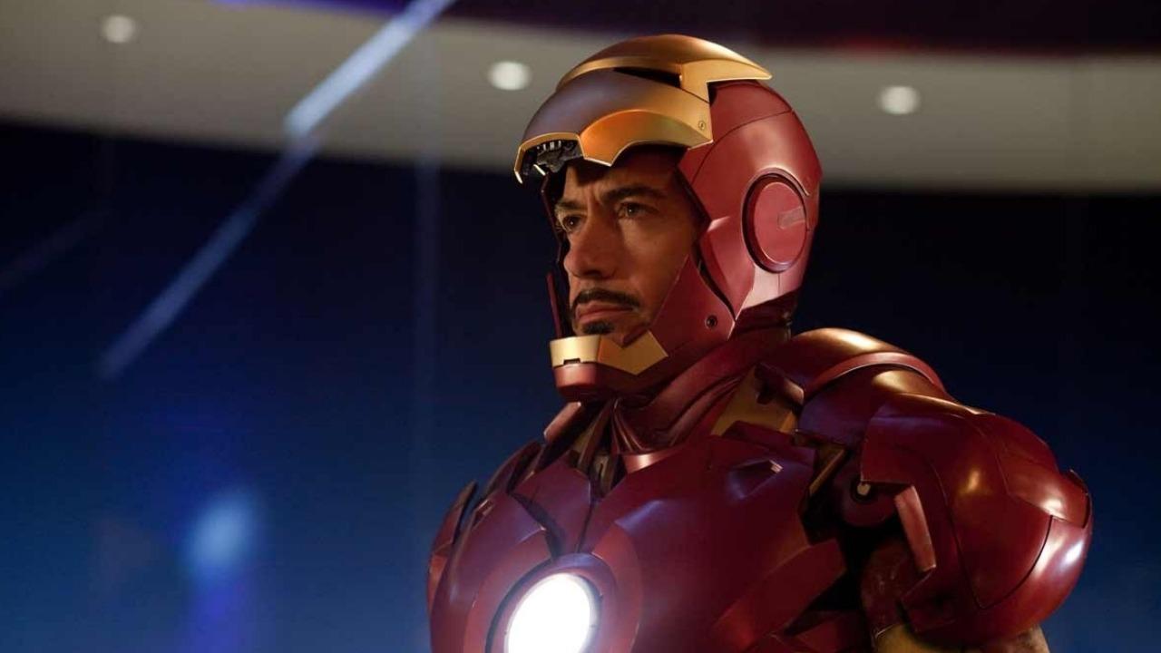 Tony Stark dans son armure d'Iron Man