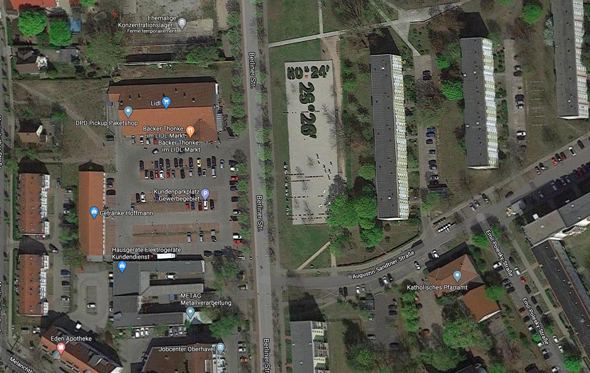 Il y a d'étranges coordonnées dans Google Maps