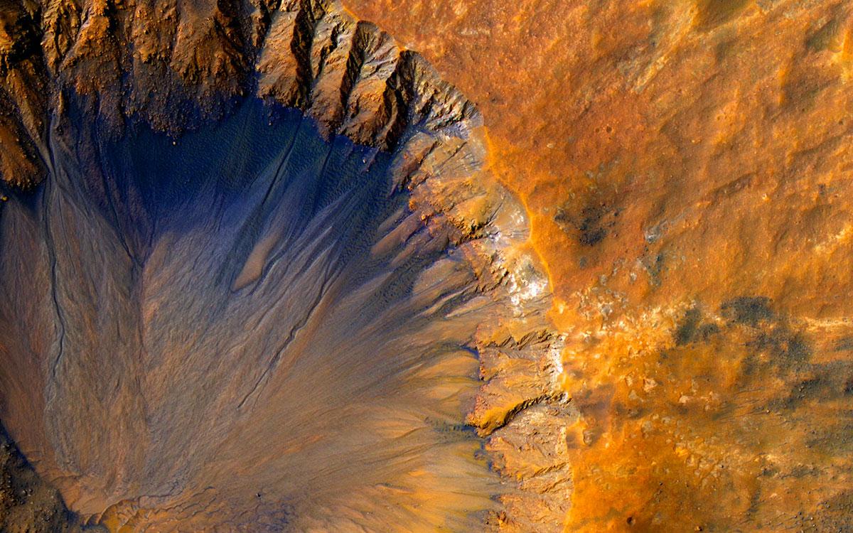 Un relief de Mars