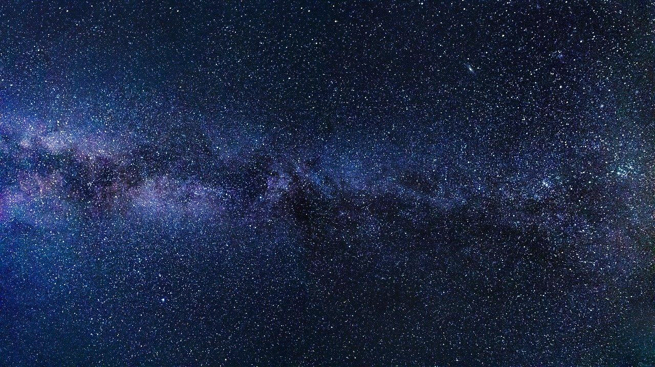 L'espace, ou plutôt la Voie lactée