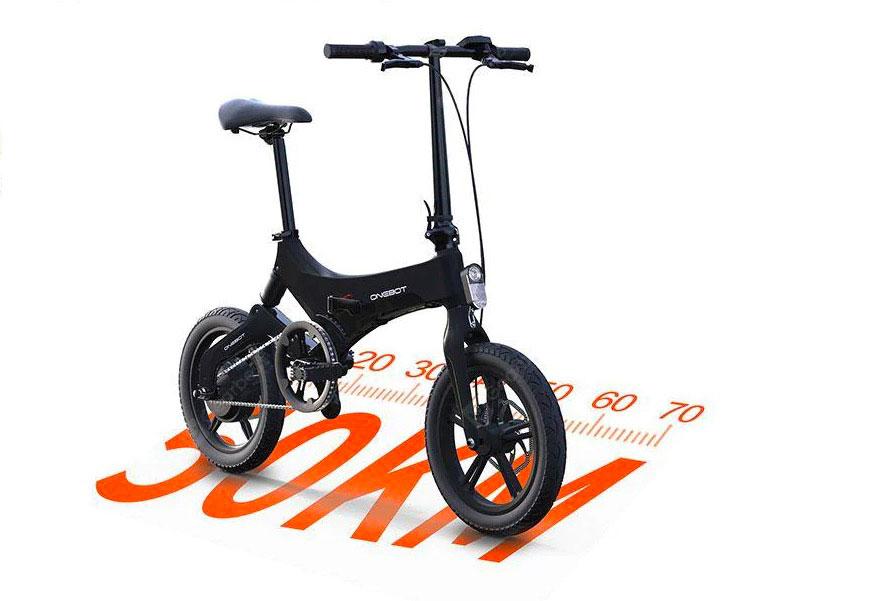Le OneBot S6 , un vélo électrique compact et passe partout