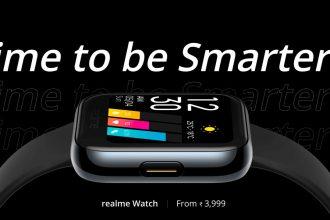 La Realme Watch a comme un petit air de déjà vu
