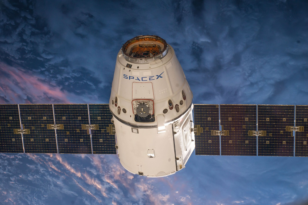 Un satellite de SpaceX