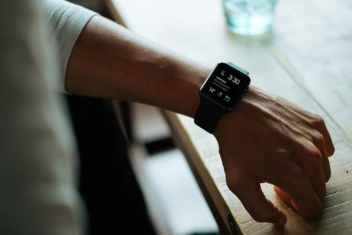 Une montre connectée