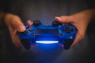 Le contrôleur d'une PlayStation