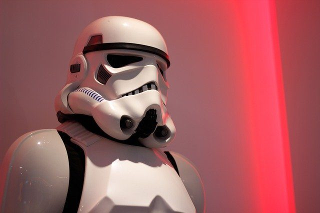La photo d'un stormtrooper