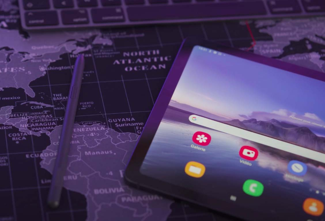 La Galaxy Tab S6 Lite et son stylet