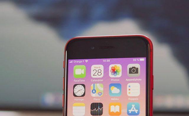 Oui, l'iPhone SE (2020) assume pleinement ses bordures