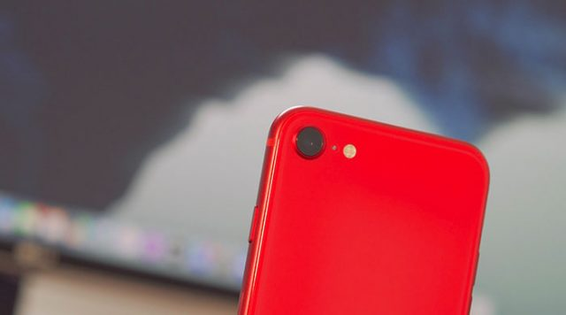 L'iPhone SE (2020) se contente d'un seul module photo