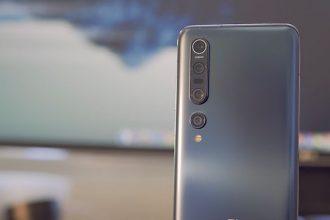 Le Xiaomi Mi 10 Pro et son magnifique dos mat
