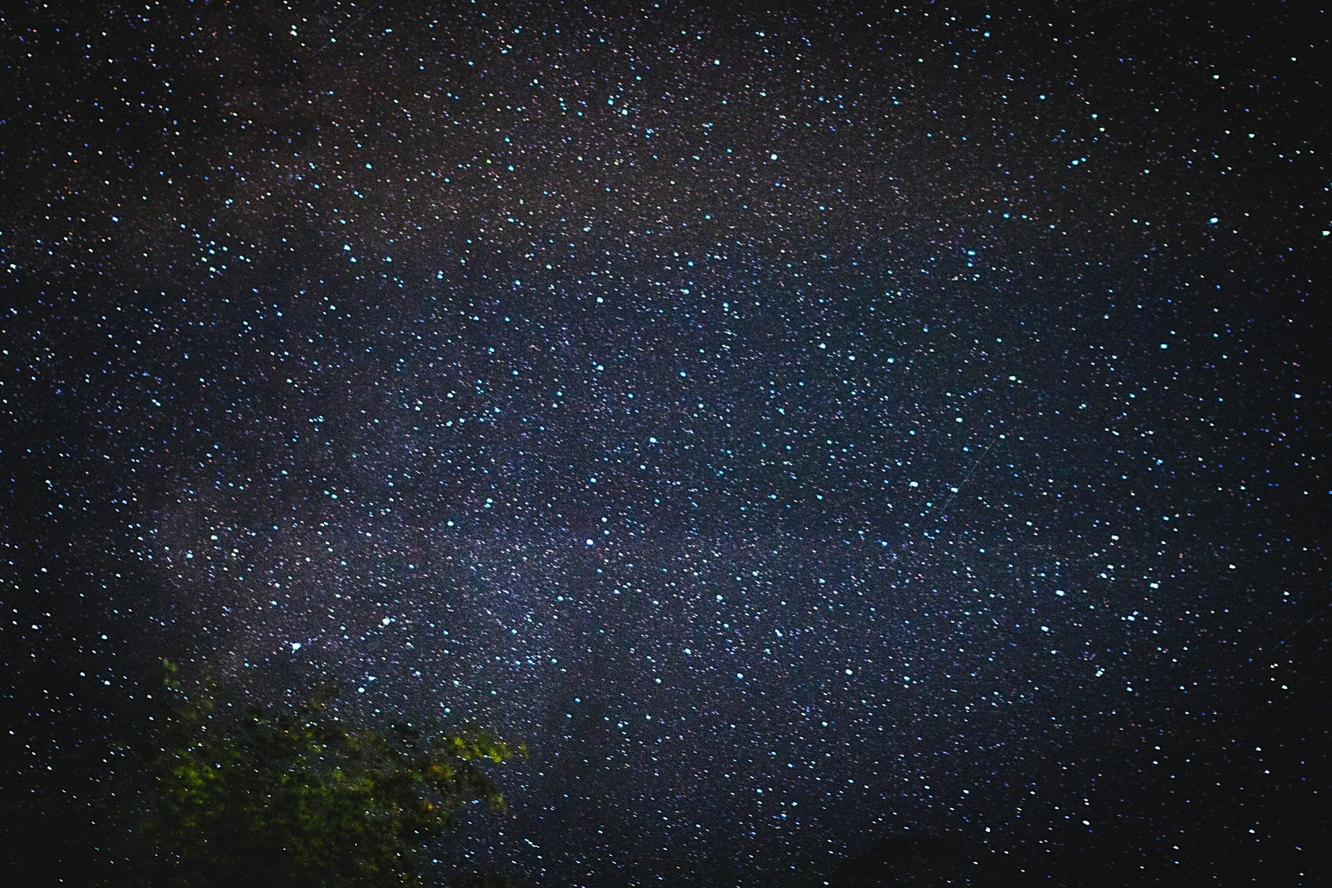 Une photo représentant l'immensité de l'Univers