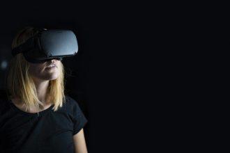 Un casque de réalité virtuelle Oculus