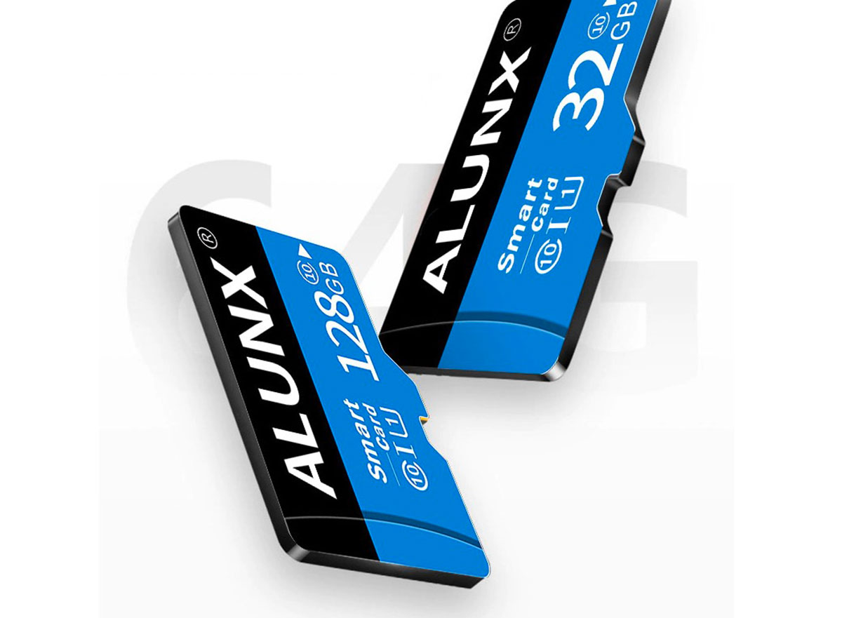 La carte micro SD Alunx