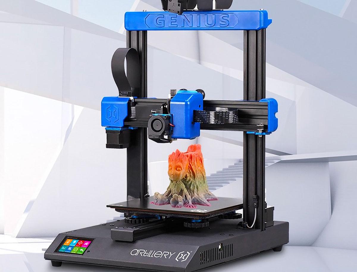 L'Artillery GENIus, une imprimante 3D assez compacte