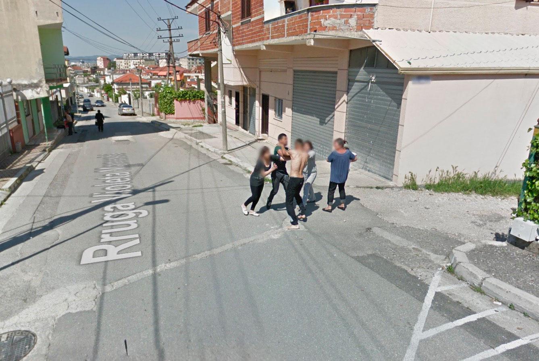 Il se passe de drôles de choses dans Google Maps