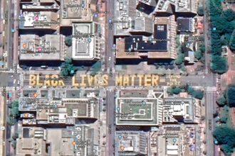 """La fresque """"Black Lives Matter"""" apparaît désormais dans Google Maps"""